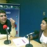 Visita del Miembro de la Comisión Promotora Nacional de la Juventud del PSUV, Jehyson Guzmán a la radio comunitaria de Petare CRP 91.5 FM, en el programa PETARE ACTIVO