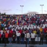 Tito Oviedo miembro del FJB200, dijo que la Juventud de Bolívar se embarca en la Campaña Admirable para lograr las victorias de los socialistas.