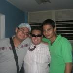 Miembros de la Comisión Electoral UCV con Ricardo Sanchez