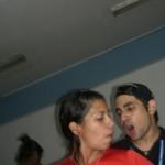 Roderick Navarro actual Presidente FCU UCV / Carla Chacon Estudiante UCV