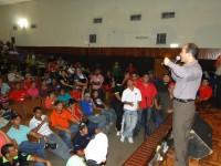 En el IUT de Cabimas, Ramírez exhortó a la comunidad universitaria a desarrollar una profunda transformación curricular. (Foto: Juan Incoronato)