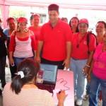 Tito Oviedo actualizó sus datos personales e invitó a la comunidad guayanesa a inscribirse en el PSUV