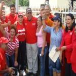 Los candidatos Tito Oviedo y Rafael Gil Barrios, junto al los responsables del Comando de Campaña Bolívar 200, visitan constantemente sectores populares de los tres municipios que conforman el circuito 1 de Bolívar.