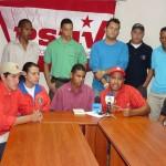 JPSUV Edo. Bolívar, respalda las decisiones del Gobierno del Presidente Chávez, agredido por la administración de Álvaro Uribe.