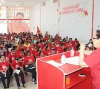 Juan Carlos Luna, candidato al Circuito 1, exhortó a la militancia a no caer en provocaciones y respetar la normativa electoral