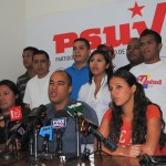La juventud del PSUV se ve reflejada en los logros obtenidos por la Revolución Bolivariana y ratifican su respaldo a la gestión del presidente Chávez.