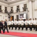 Barack Obama y Sebastian Piñera en Chile. EFE