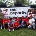 Zona Deportiva activada en el Estado Lara.