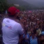 Viceministro Jose Teran Dirigiendo unas palabras a los Temporadistas