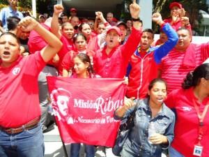 Juventud del PSUV alerta y activada en condena de las sanciones impuestas por la administración Obama.