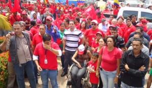El pueblo atendió el llamado a movilización que solicitó el Gobierno Nacional.