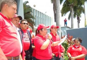 Diputada Betancourt leyó el comunicado emitido por la Cancillería de la República.