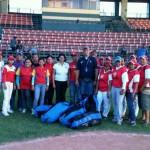 Inaguración del plan de Masificacion del Beisbol Femenino en el Estado Lara