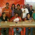 Rueda de prensa JPSUV Cojedes en repudio a las sanciones de EEUU contra PDVSA
