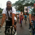 Juventud Socialista Cojedeña realiza bicicleta por la vida