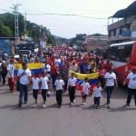Caminata en Tinaco