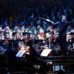 El reconocido Director Gustavo Dudamel, dirige la Orquesta Sinfónica Juvenil Simón Bolívar. (Foto: AVN)