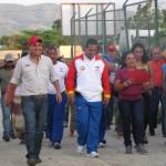 Enlace JPSUV Willian Gil, Viceministro Jose A. Teran, Vocera Principal  Olga Contreras, Caminando por la comunidad