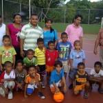 La JPSUV incentiva el deporte en los más pequeños.