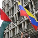 Bandera Venezuela Palestina