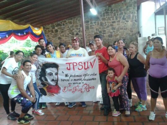 Con la consiga de no podemos optar entre vencer o morir, necesario es vencer, la Juventud Del Partido Socialista Unido De Venezuela (JPSUV) del Municipio José Tadeo Monagas del estado Guárico, realizo un  pequeña concentración con motivo del 238 aniversario del natalicio de José Félix Ribas