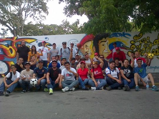 La Juventud Larense se activa en el Parque y la Escuela.