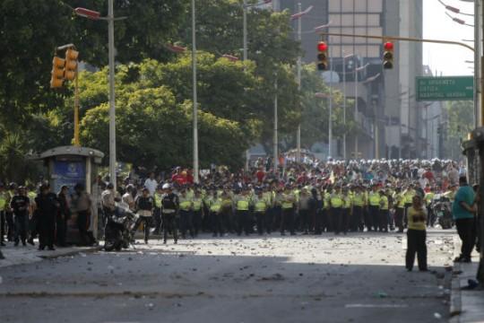 Actos-violentos-en-Caracas-1
