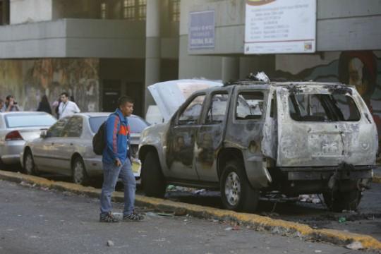 Actos-violentos-en-Caracas-4