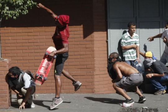 Actos-violentos-en-Caracas-8