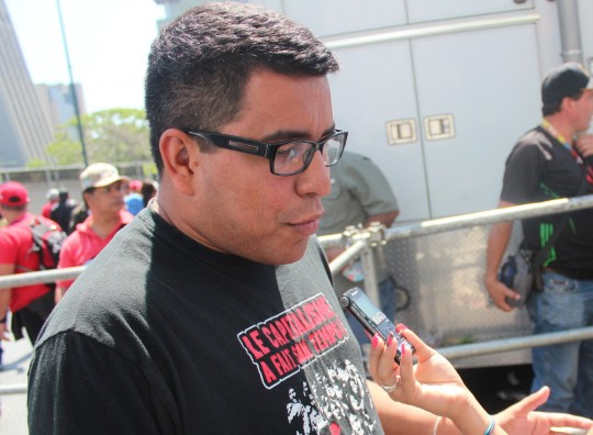 Heryck Rangel, responsable nacional de política electoral de la Juventud del Partido Socialista Unido de Venezuela