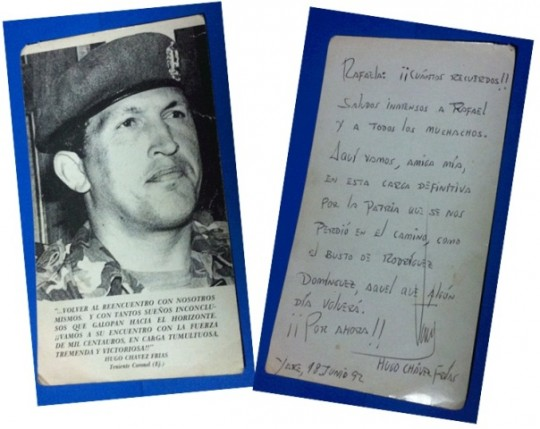 Tarjeta-que-Chávez-le-envió-a-Rafaela-de-Guedes-540x429