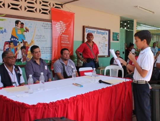 Viceministro Willian Gil instaló Consulta por la Calidad Educativa en estado Anzoátegui