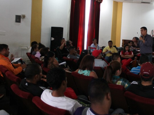 @WillianGil: Los Estudiantes debemos preservar la Unión y la Paz en nuestras Casas de Estudios.