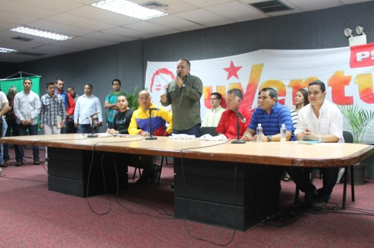 Congresillo Juventud Universitaria PSUV 10-06-2014 Dist Capital (321)