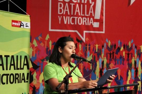 Sony Sánchez, enlace de la JPSUV   en Miranda