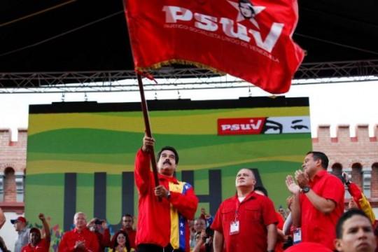 Presidente-del-PSUV-Nicolas-Maduro