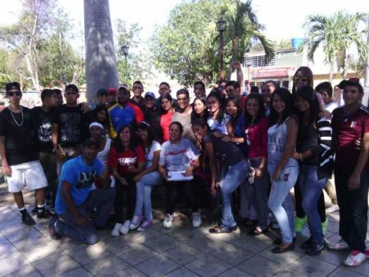 Elección de delegados al Congreso Jpsuv del Municipio Torres.