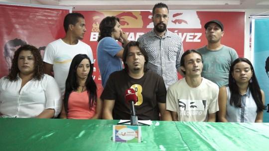 Foto 1.- Daniel Perdomo coordinador regional de la Juventud del Partido Socialista Unido de Venezuela