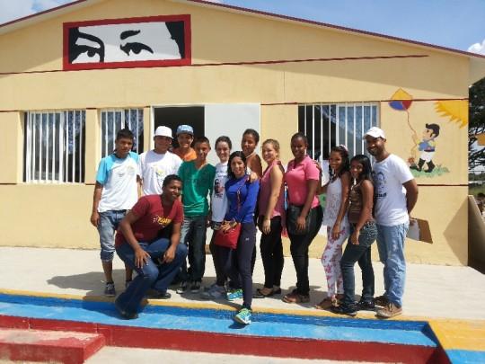 Foto 1.- Jóvenes de las comunidades expresaron su voluntad para incorporarse en las brigadas juveniles