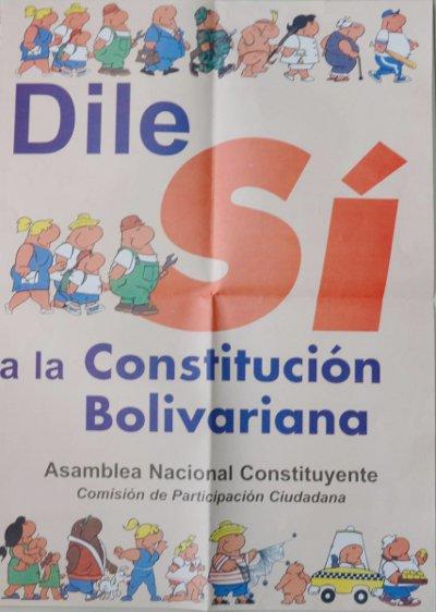 Constitución De La República Bolivariana De Venezuela Cumple