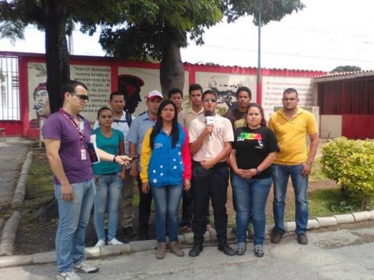 La Juventud respalda a Diosdado Cabello (Foto: Prensa Jpsuv Lara)