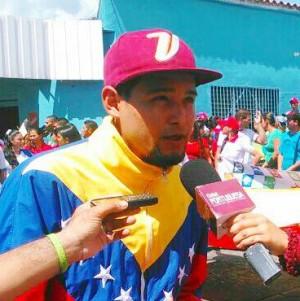 Foto: Rafael Guedez pidió respeto para la legisladora.