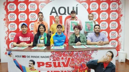 Juventud larense respalda al vicepresidente Tareck El Aissami