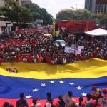 marcha-chavista-bandera