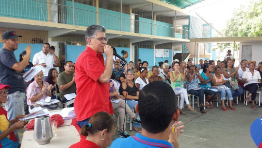 Foto: Cortesía Elías Jaua