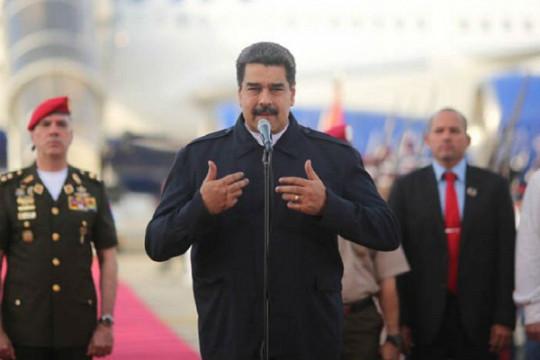 20180929 Pdte. Maduro en Maiquetia