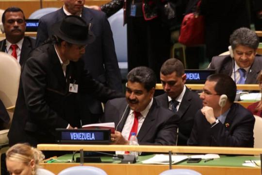 20180929 Pdte. Maduro y Cilia en NY 2