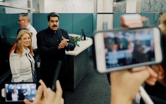 20180929 Pdte. Maduro y Cilia en NY