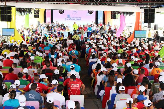 La juventud tiene que asumir el estudio permanente como lo hizo Hugo Chávez. Necesitamos jóvenes preparados para el momento histórico que vivimos